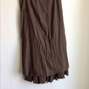 Elie Tahari Skirts - Elie Tahari Boho Brown Skirt Size 12 Note Sizing